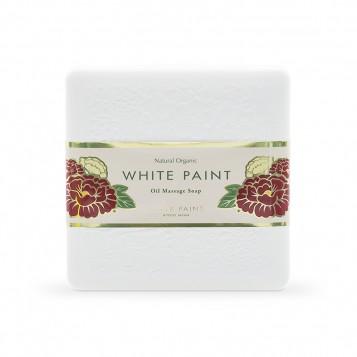 WHITE PAINT SOAP (WITH PROBIOTICS) 60g (front)