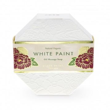WHITE PAINT SOAP (WITH PROBIOTICS) 120g (front)