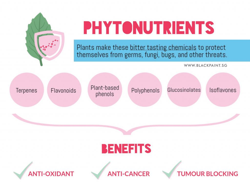 the importance of phytonutrients and its benefits to our health